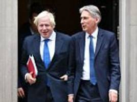 Philip Hammond offered to back Boris Johnson for PM