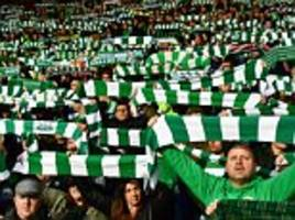 celtic fans risk arrest if found without a match ticket