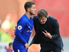 eden hazard could start for chelsea at atletico madrid