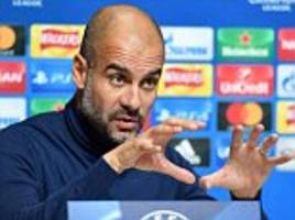 guardiola warns man city not to underestimate shakhtar