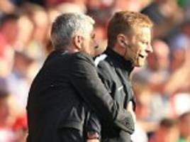 Jose Mourinho will not be punished by the FA