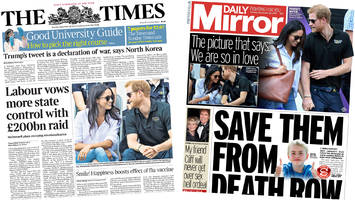 the papers: labour's 'radical' nationalisation plans