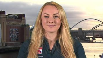Mica McNeill: Great Britain bobsleigher says she is 'powered by the people'