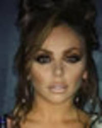 jesy nelson turns goddess of cleavage in extremely plunging neckline