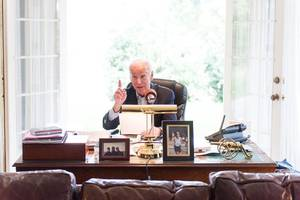 joe biden will deliver news briefings via amazon echo and google home