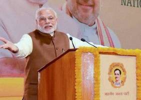 PM Modi to deliver valedictory address during BJP national executive meet today