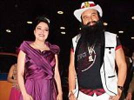 honeypreet 'wanted a son' with adoptive father ram rahim