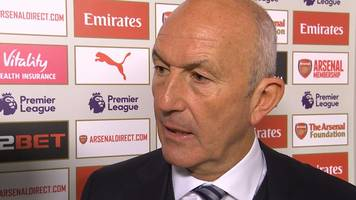 arsenal 2-0 west brom: tony pulis says his side should have had a penalty