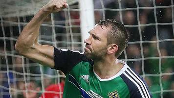 mcauley back in northern ireland squad for world cup qualifiers