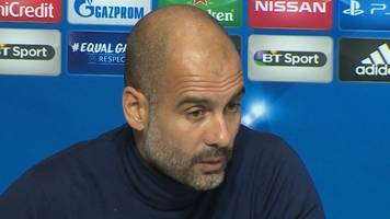 pep guardiola: man city manager says shakhtar donetsk 'one of the best' teams