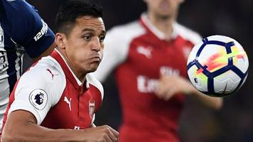 west brom boss accuses arsenal's sanchez of cheating