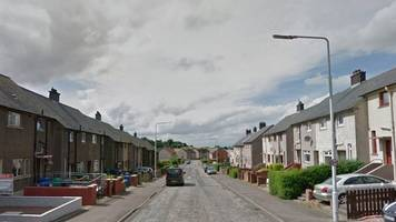 woman found with stab wounds in fife garden dies in hospital
