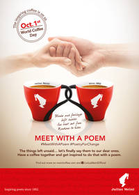 thousands to reconnect in julius meinl's annual 'meet with a poem' initiative