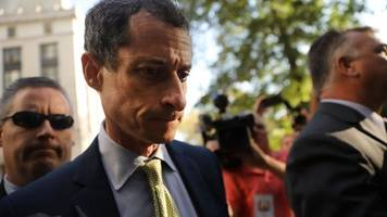 former rep. anthony weiner sentenced in underage sexting case