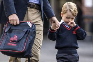 Take a look behind the scenes at Prince George's new school Thomas's Battersea