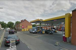 three charged over petrol station robbery
