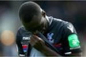 crystal palace could be without striker for several weeks,...