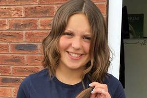 charity challenge a snip for caring stafford student josie