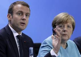 german vote could doom angela merkel-emmanuel macron deal on europe