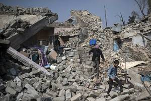 Russians Accused Of Bombing Syrian Democratic Forces