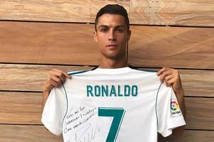 cristiano ronaldo pays touching tribute to young fan who died in mexico city earthquake
