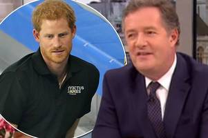 piers morgan shocks good morning britain viewers by referring to meghan markle as 'person prince harry is having sex with'
