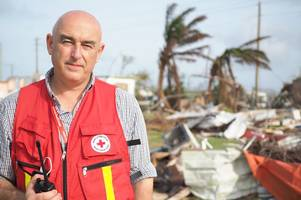 scots aid worker reveals crippling damage of hurricane irma as he helps rebuild caribbean island