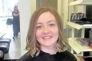 shotts teen proves she's a cut above the rest by getting hair chopped