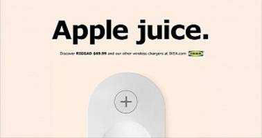 Ikea Makes Fun of Apple Because Their Furniture Already Has Wireless Charging