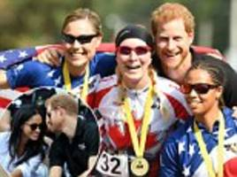 prince harry attends invictus games without meghan