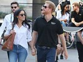 Harry and Meghan Markle make first appearance together