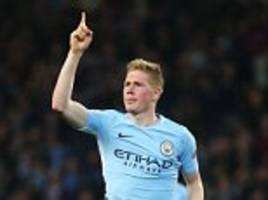 De Bruyne fires Manchester City to Champions League win