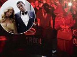 beyonce and jay-z are spotted at bruno mars' nyc concert