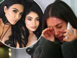 kim kardashian 'didn't respond well at first' to kylie