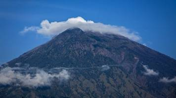 a volcano in bali could erupt for the first time since 1963