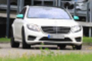 2021 Mercedes-Benz S-Class spy shots