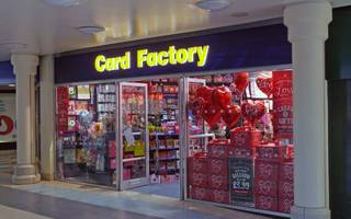 no love for card factory shares as profits decline