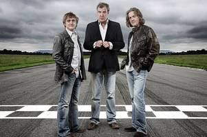 the grand tour hosts return - but their tent stays put