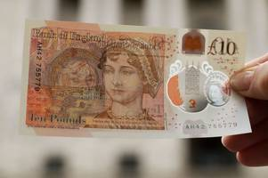 new £10 note: your shiny jane austen tenner could be worth thousands - here's how