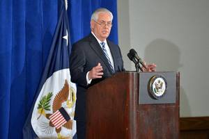 tillerson meets cuba minister on 'attacks' on us staff