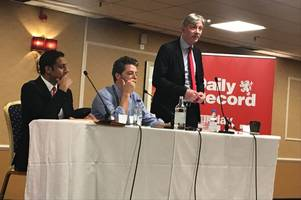 anas sarwar and richard leonard face tough questions at daily record's labour party conference hustings