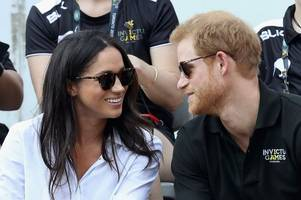 the look of love? prince harry and actress meghan markle make first public appearance together