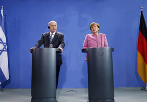 merkel to netanyahu: talks with israel will be held when government forms