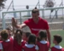 watch: making dreams come true - behind the scenes with gareth bale