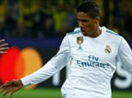 raphael varane pens new 5-year deal with real madrid