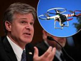 fbi director: terrorists trying to use drones in attacks