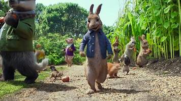 the trailer for the new animated 'peter rabbit' lands.. and feelings are mixed