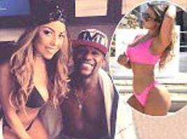 abi clarke was never dating boxer floyd mayweather