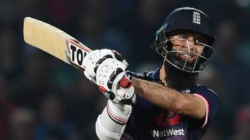 england v west indies: moeen ali seals odi series win after evin lewis' 176