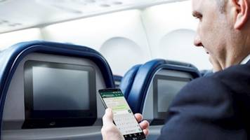 a major us airline is about to offer free in-flight texting